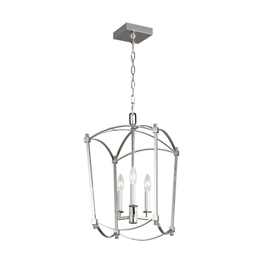 Murray Feiss Thayer 3-Light Chandelier, Polished Nickel - F3321-3PN