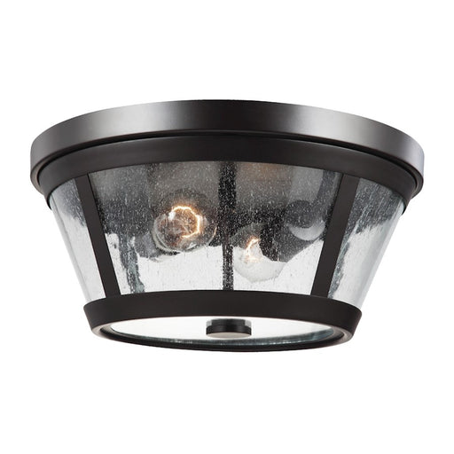 Feiss Harrow 2 Light Flush Mount