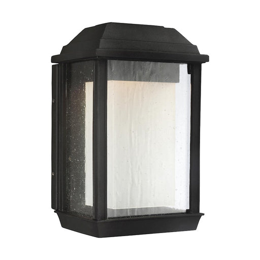 Feiss McHenry Outdoor Wall Lantern, Textured Black, 11'