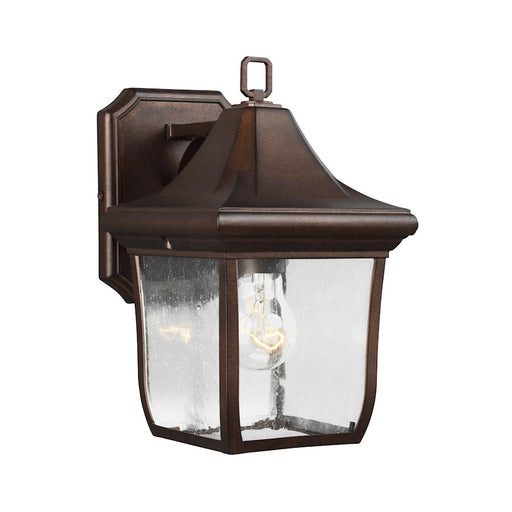 Feiss Oakmont Outdoor Wall Lantern, Patina Bronze