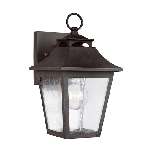 Feiss Galena 1 Light Wall Lantern, Sable