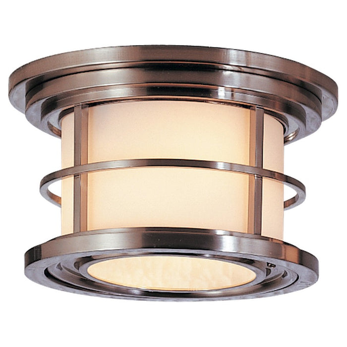 Feiss Lighthouse 2-Light Ceiling Fixture, Burnished Bronze