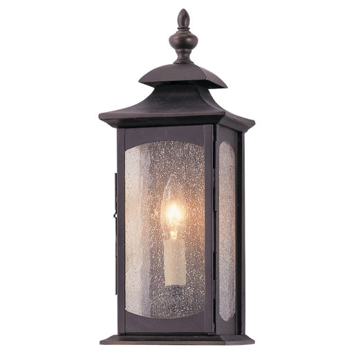 Feiss Market Square Wall Lantern, Oil Rubbed Bronze