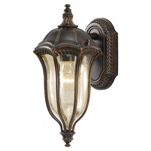 Feiss Baton Rouge Wall Lantern, Walnut