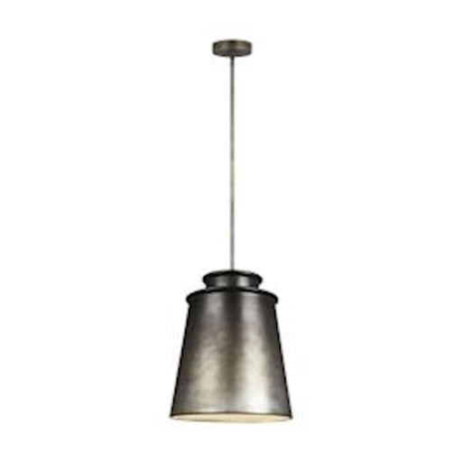 Feiss Fiona  3 Light Pendant, Oil Can Grey
