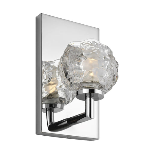 Feiss Arielle Vanity Wall Sconce, Chrome