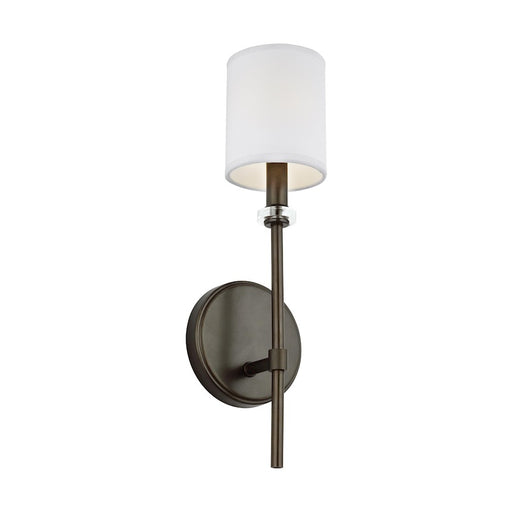 Feiss Bryan 1 Light Wall Sconce, Antique Bronze