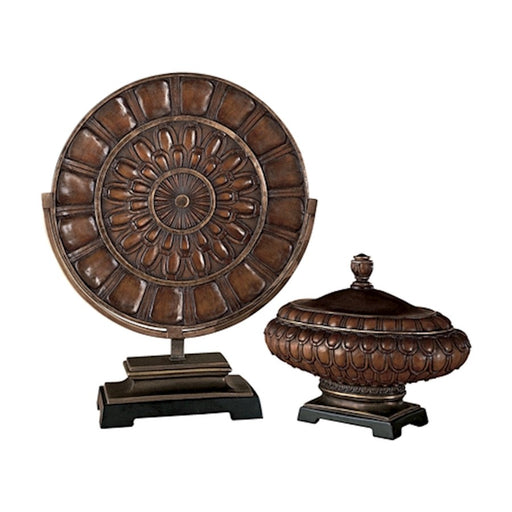 Minka Lavery Charger Plate And Decorative Box - 40833-0