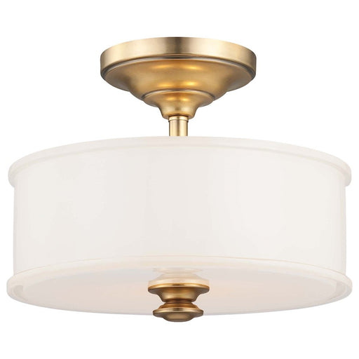 Minka Lavery Harbour Point 2 Light Semi Flush Mount