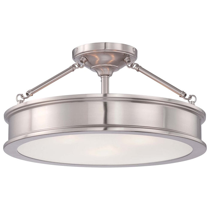 Minka Lavery Harbour Point 3 Light Semi Flush Mount