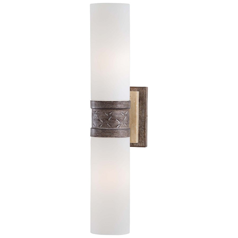 Minka Lavery Compositions 2 Light Wall Sconce