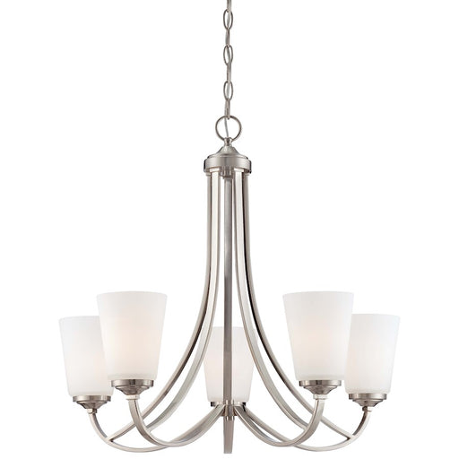 Minka Lavery Overland Park Chandelier Brushed Nickel