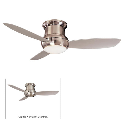 "Minka Aire Concept Ii Wet 52"" LED Flush Mount Ceiling Fan"