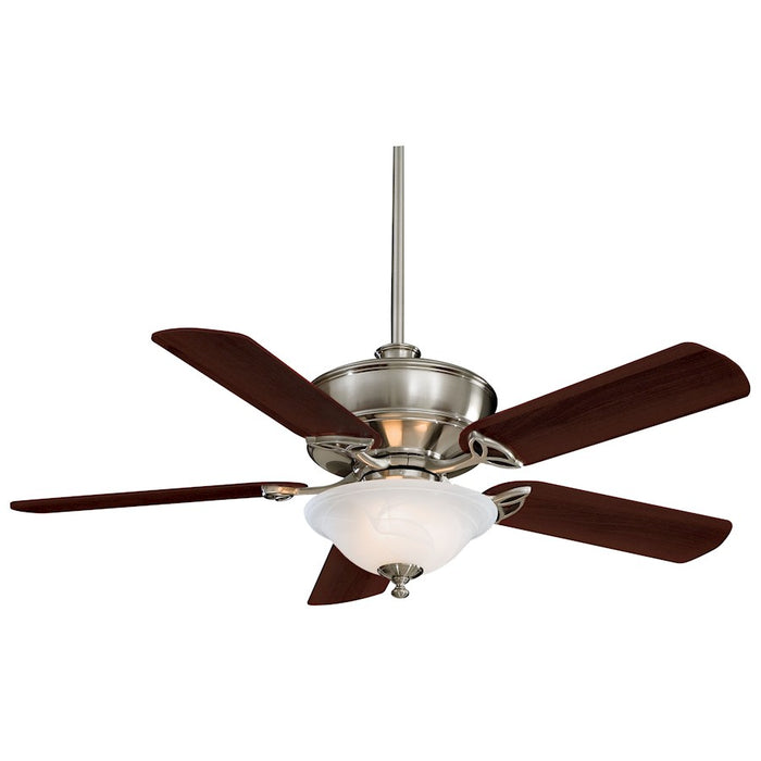 "Minka Aire Bolo 52"" LED Ceiling Fan, Brushed Nickel - F620L-BN"