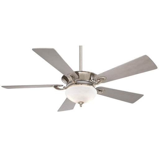 Minka Aire Delano Ceiling Fan, Polished Nickel