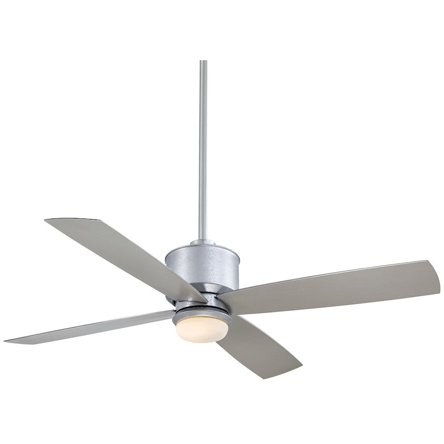 "Minka Aire Strata 52"" LED Ceiling Fan, Galvanized - F734L-GL"