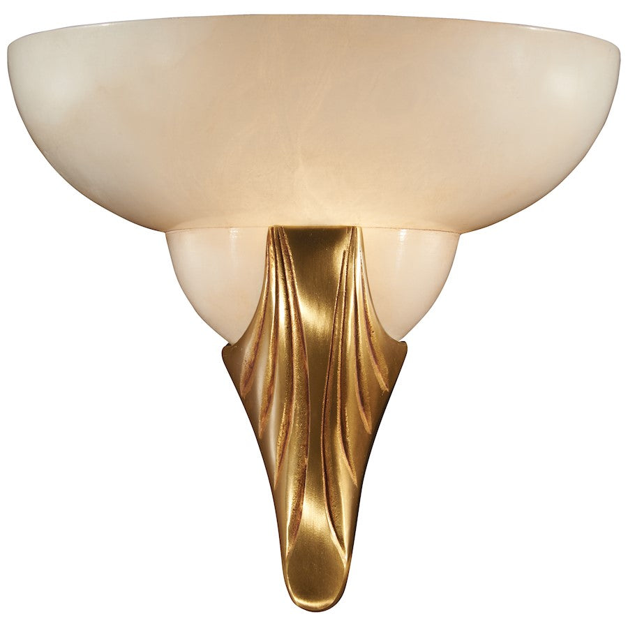 "Minka Metropolitan 1 Light 10"" Wall Sconce, French Gold"