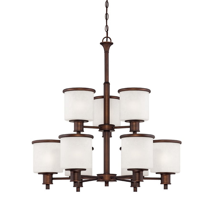 Millennium Lighting Dalton Chandelier, Rubbed Bronze