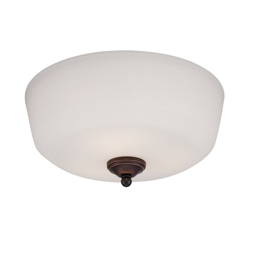 Millennium Lighting Lansing Semi-Flush Light, Rubbed Bronze