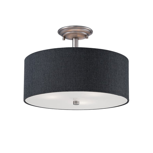 Millennium Lighting Jackson 3-Light Semi-Flush Mount