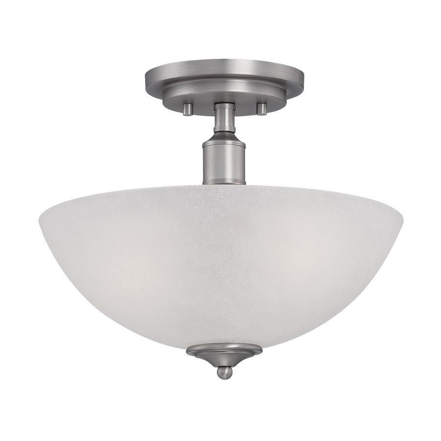 Millennium Lighting Franklin 2 Light Semi-Flush Mount