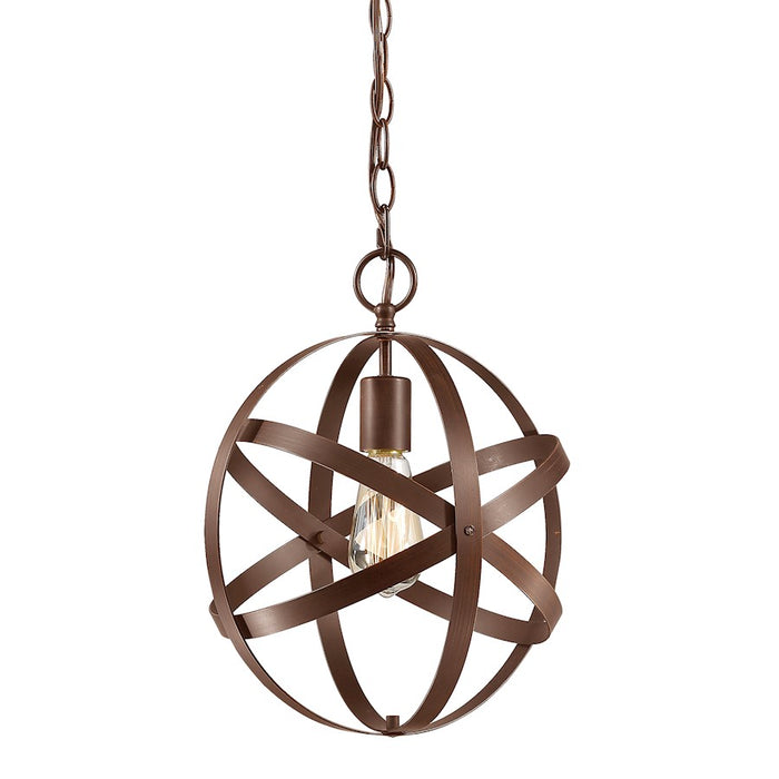 Millennium Lighting 1 Light Pendant, Rubbed Bronze
