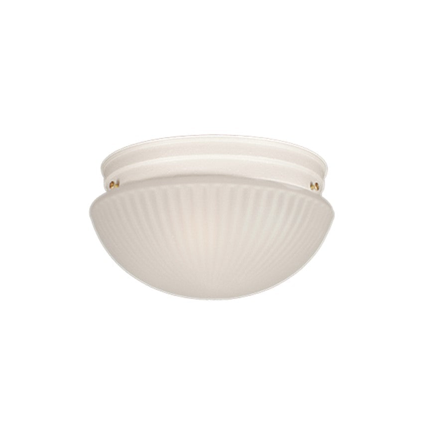 Millennium Lighting Flushmount, Textured White