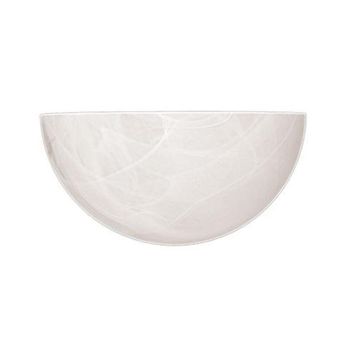 Millennium Lighting 1 Light Wall Sconce with 4' Extension, White