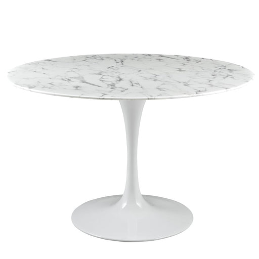 Modway Furniture Lippa Artificial Marble Dining Table