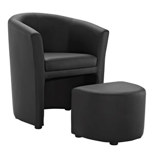 Modway Furniture Divulge Armchair and Ottoman
