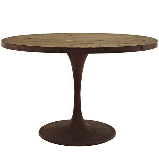 Modway Furniture Drive Oval Wood Top Dining Table