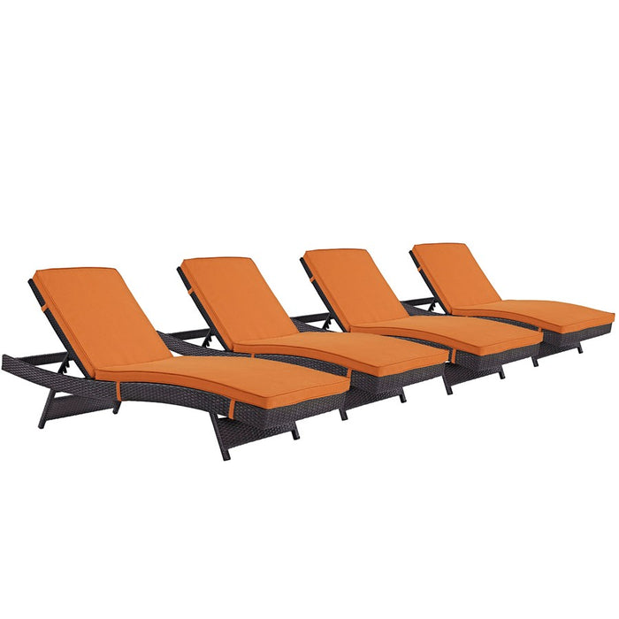 Modway Convene Chaise Outdoor Set