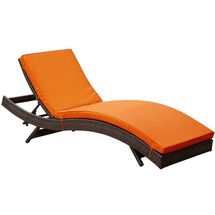 Modway Furniture Peer Outdoor Patio Chaise