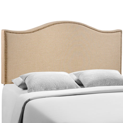 Modway Furniture Curl Queen Nailhead Upholstered Headboard