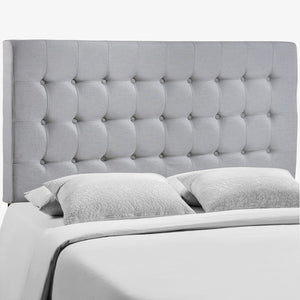 Modway Furniture Tinble Queen Headboard, Sky Gray - MOD-5210-GRY