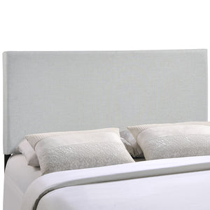 Modway Furniture Region Full Upholstered Headboard, Sky Gray - MOD-5213-GRY