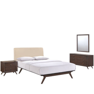 Modway Tracy 4 Pc Queen Bedroom Set