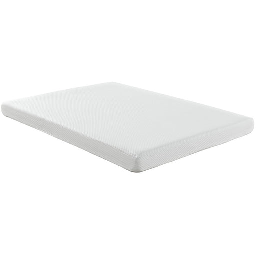 "Modway Furniture Aveline 6"" Queen Mattress, White - MOD-5346-WHI"