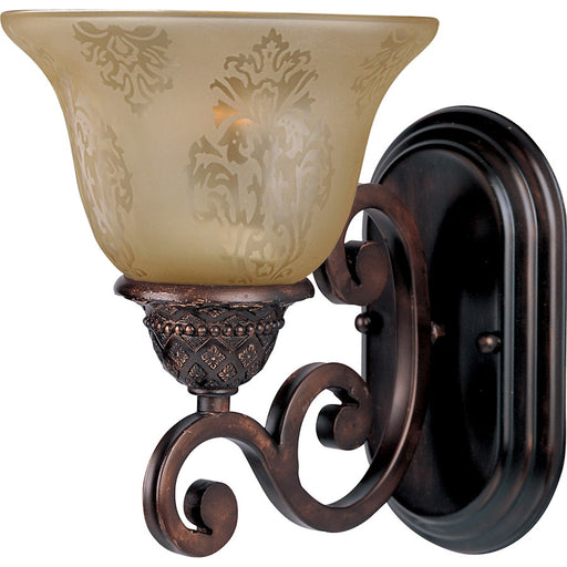 Maxim Symphony 1 Light Wall Sconce, Oil Rubbed Bronze