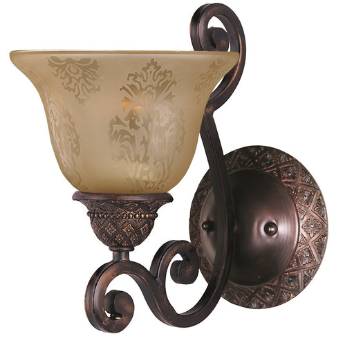 Maxim Symphony Wall Sconce, Oil Rubbed Bronze