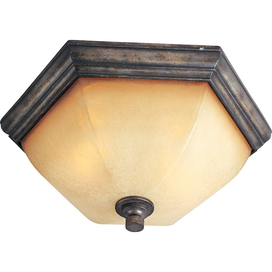 Maxim Lighting Moda 2-Light Flush Mount, Florentine
