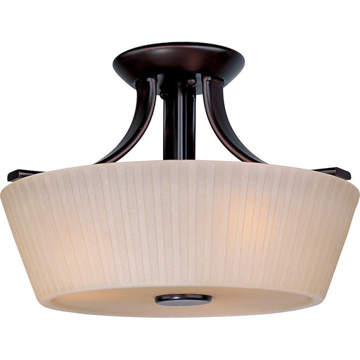Maxim Finesse 3-Light Semi-Flush Mount