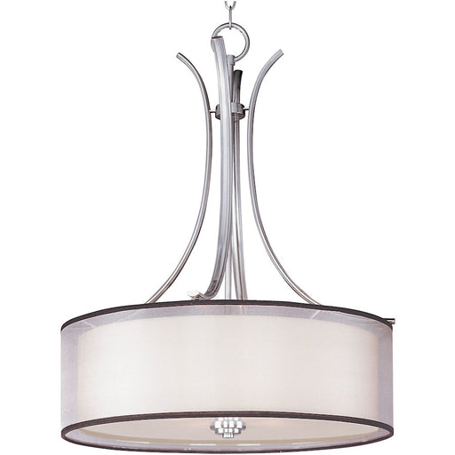 Maxim Lighting Orion Pendant, Satin Nickel