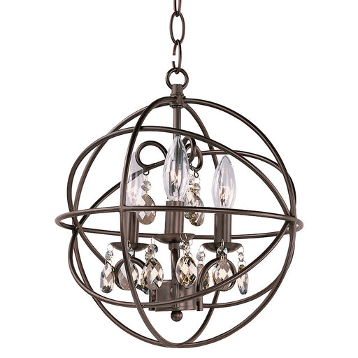 Maxim Lighting Orbit Single Tier Chandelier