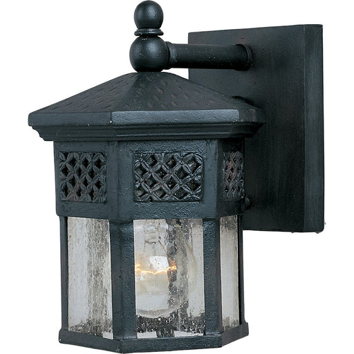 Maxim Scottsdale 1-Light Outdoor Wall Lantern, Country Forge