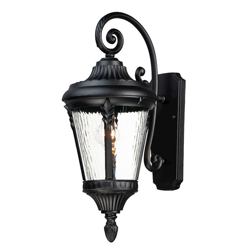 Maxim Lighting Sentry Outdoor Wall Sconce, Black