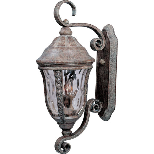 Maxim Whittier Cast 3-Light Outdoor Wall Lantern, Earth Tone