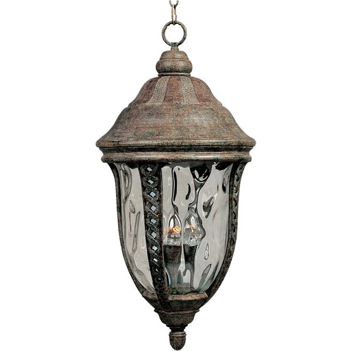 Maxim Whittier Cast 3-Light Outdoor Hanging Lantern, Earth Tone