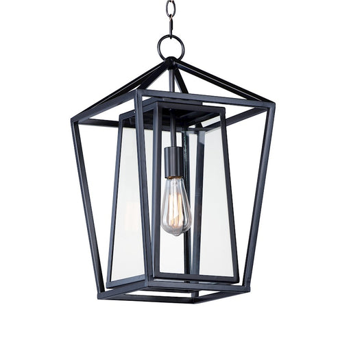 Maxim Lighting Artisan 1-Light Outdoor Pendant, Black