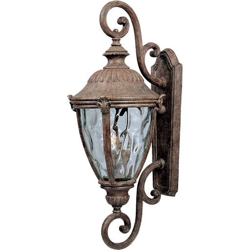 Maxim Morrow Bay Cast 3-Light Outdoor Wall Lantern, Earth Tone